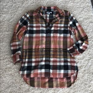 Madewell perfect fall flannel